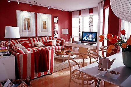 design : wohnzimmer farbe rot ~ inspirierende bilder von ... - Wohnzimmer Farben 2015
