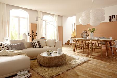 Wohnzimmer landhausstil braun  Design : wohnzimmer weiß gestalten ~ Inspirierende Bilder von ...